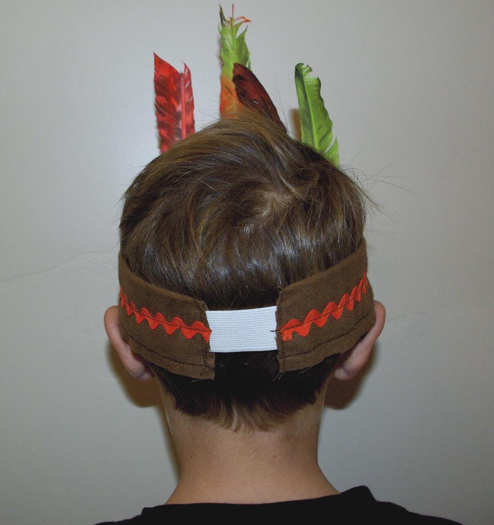 How To Make A Native American Indian Headband Noelle O