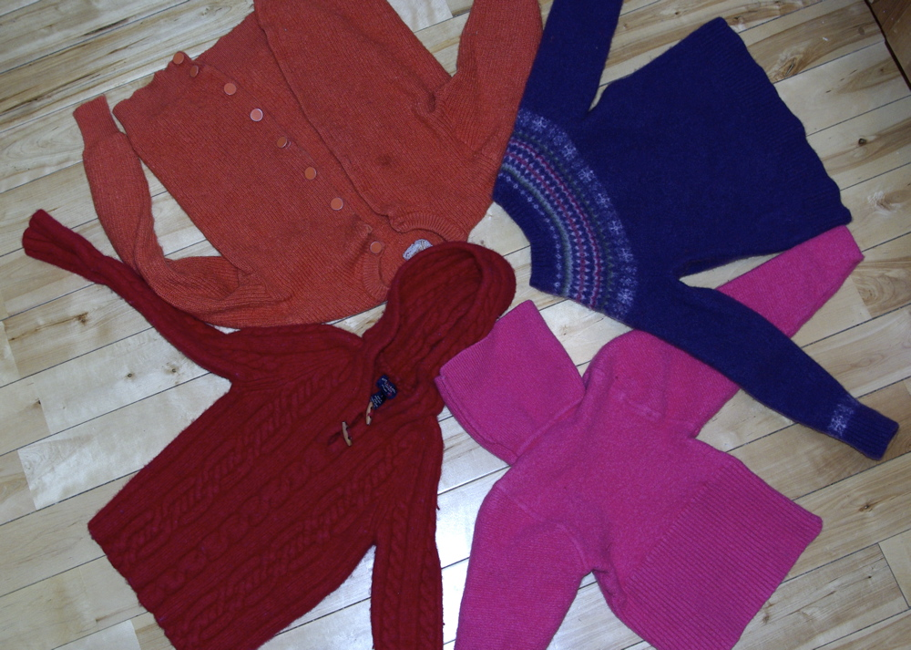 felted wool sweaters