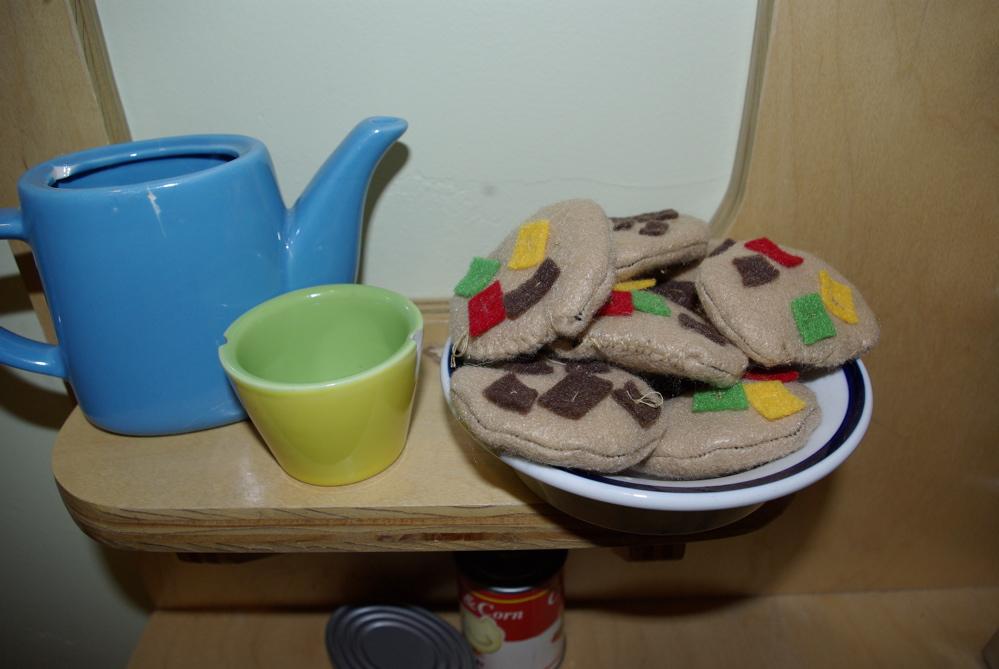 felt play food ideas for kids felt cookies