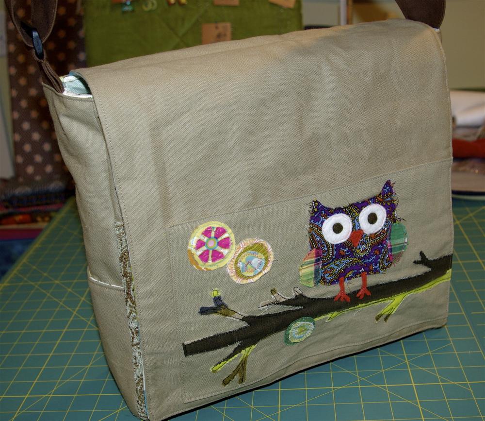 Owl Shoulder Bag Pattern 17