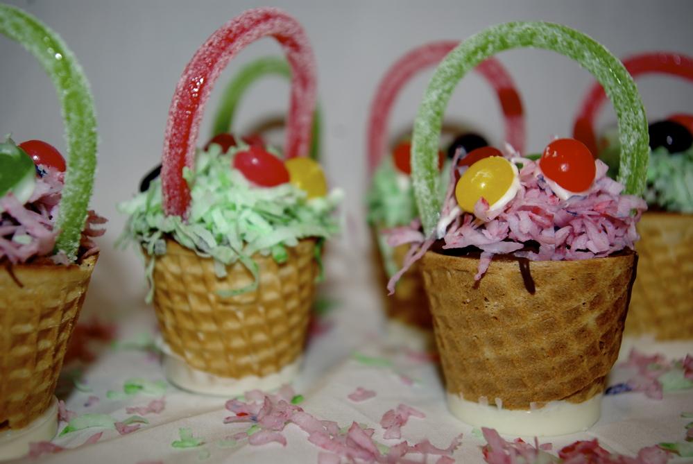 edible easter baskets - noelle o designs