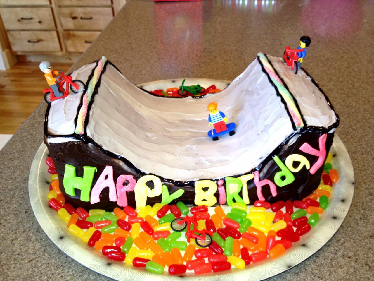 Skate Ramp Cake Noelle O Designs