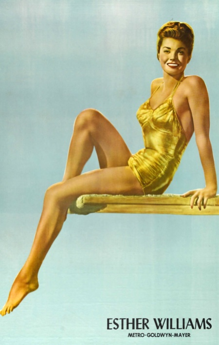 esther williams, vintage swimwear