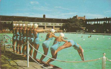 vintage swimwear, jones beach