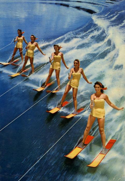 Vintage Waterskiing 72