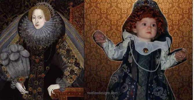 baby queen elizabeth costume
